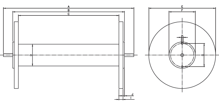 Vetrotex fiberglass beams_beam drawing
